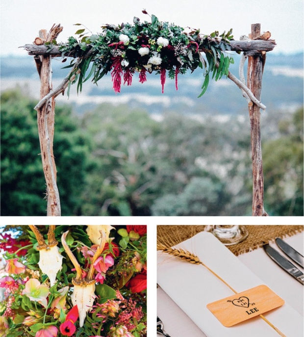 Photography (clockwise from top): Ed Sloane Photography; Enchanted Wedding Photography; Stefani Driscoll Photography