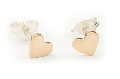 PreciousMetals_Gold-heart-studs-$80-from-Ernest-and-Joe