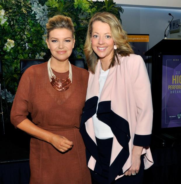 Rebecca Maddern and Caroline Fitzgerald